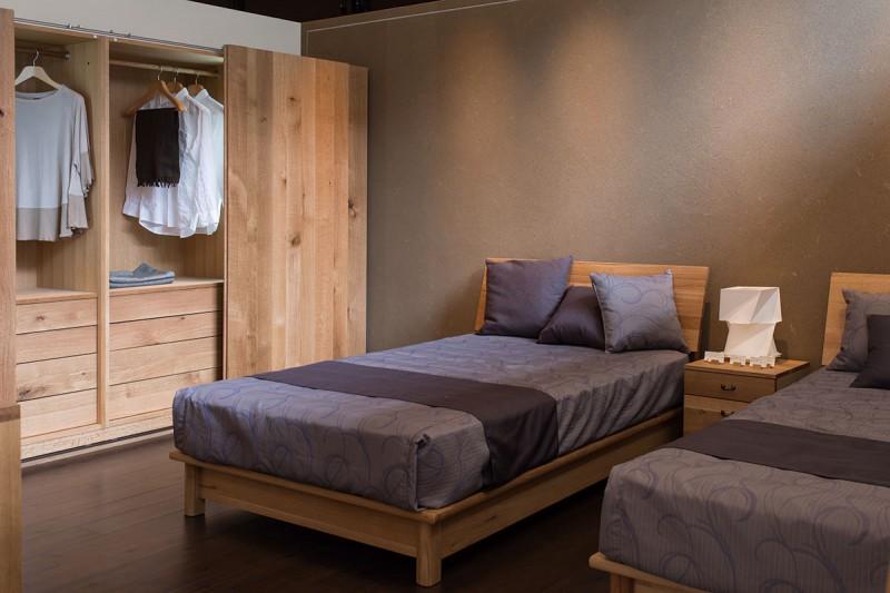森のことば 寝室