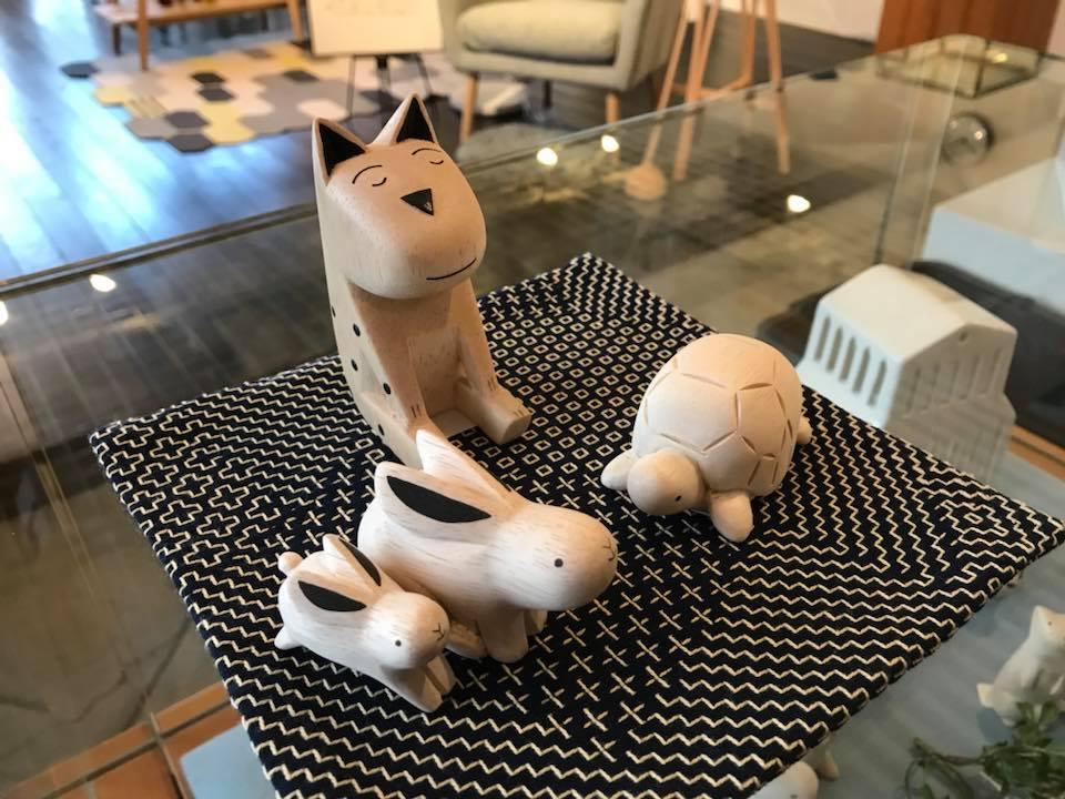 ぽれぽれ+台敷き紺