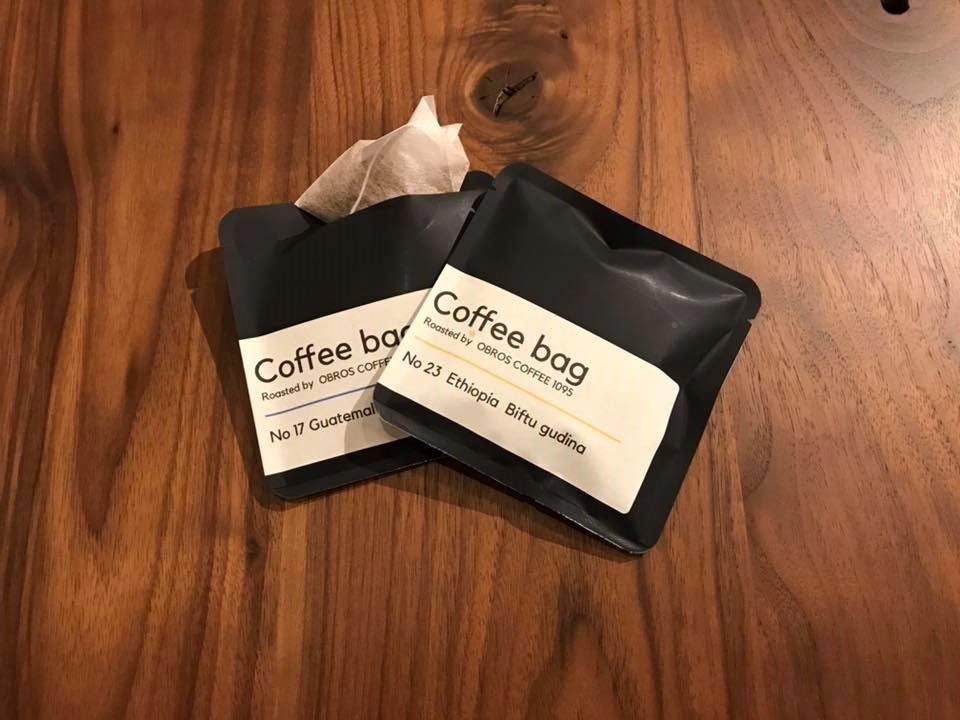 オブロスコーヒーティーパック