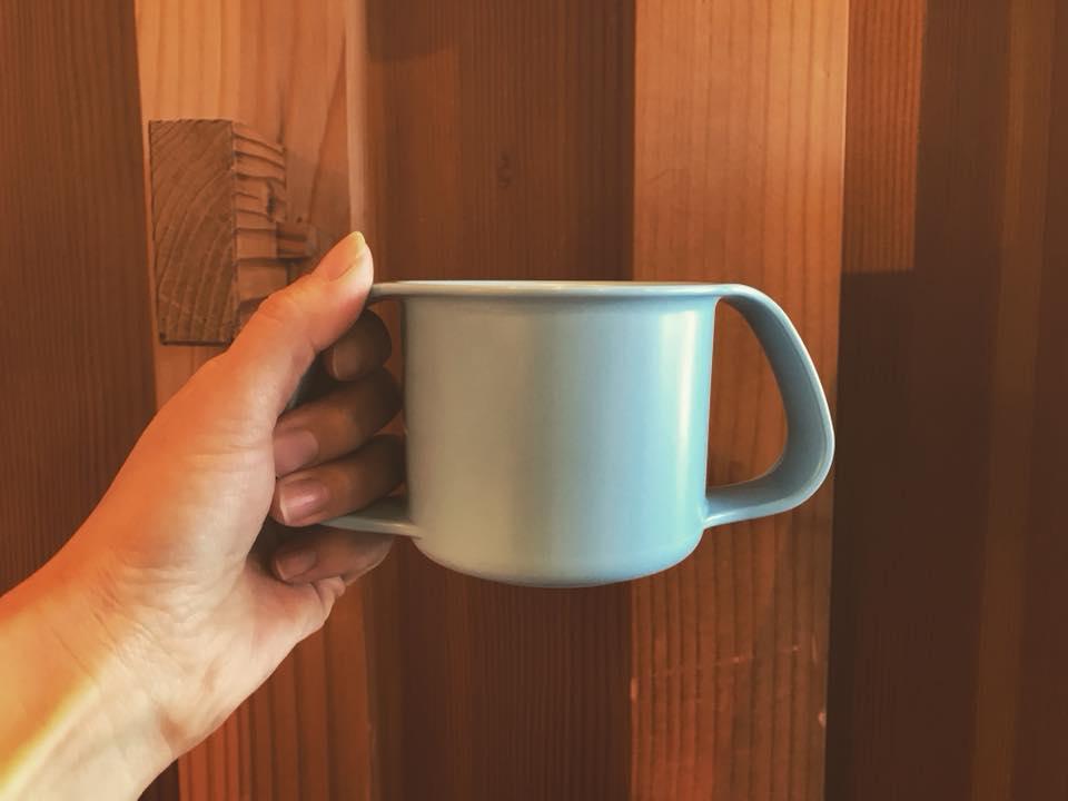 ミルクカップアースブルー
