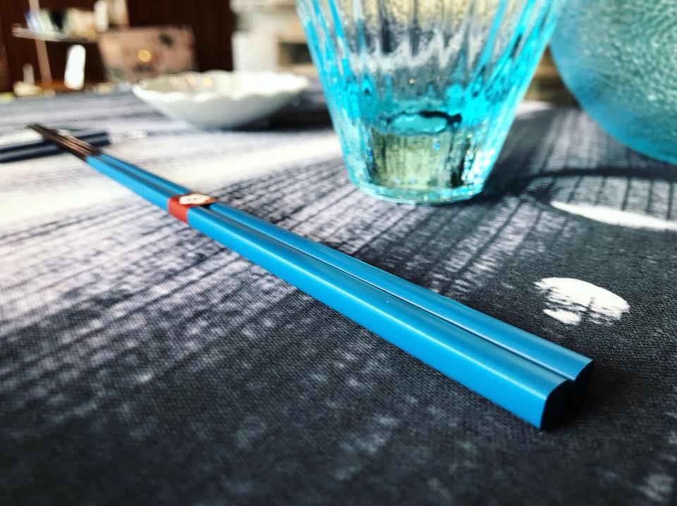 紺碧テーブルコーデ