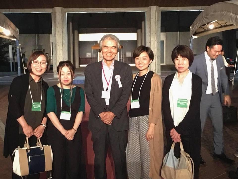 飛騨産業社長と記念撮影