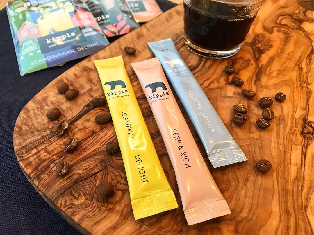 3種類のコーヒーパウダー